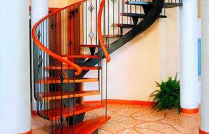 Порошковая покраска металлических лестниц