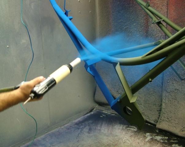 Порошковая покраска рам велосипедов Калуга