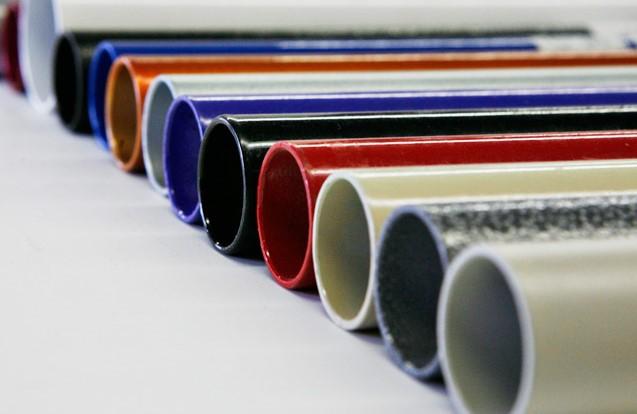 Порошковая покраска труб (профиля)