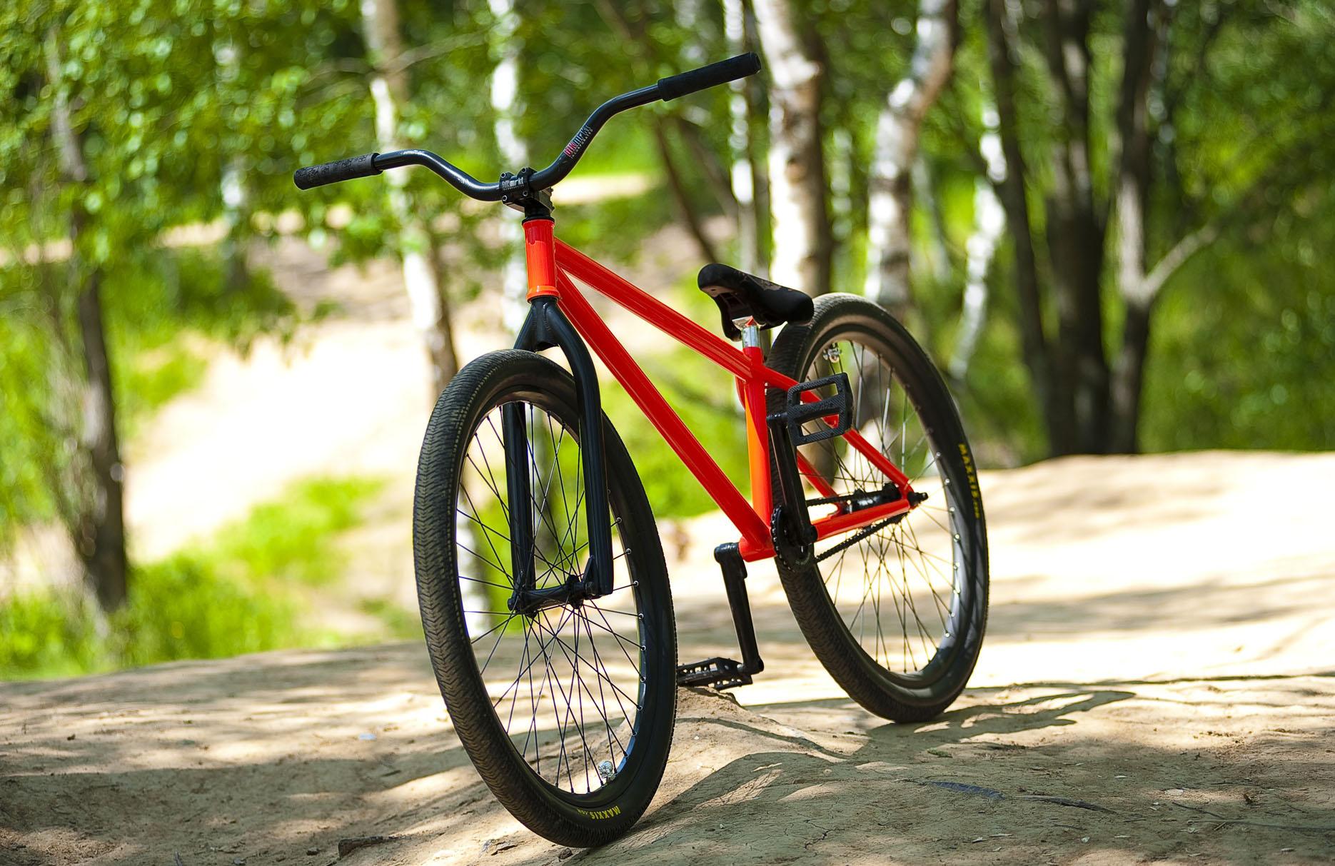 Пескоструйная обработка велосипеда