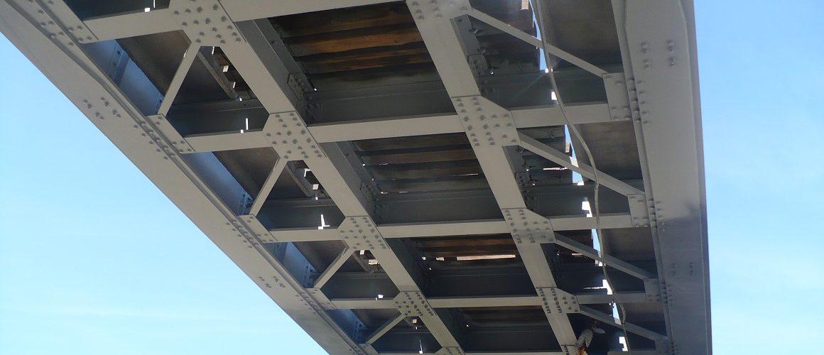 Пескоструйная обработка мостов